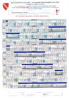 Calendrier previsionnel 2021-2022 Restauration scolaire