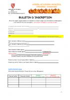 ALSH Octobre 2021 – Bulletin d'inscription